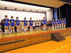高校総体壮行会2