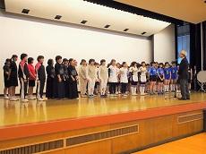 高校総体壮行会4