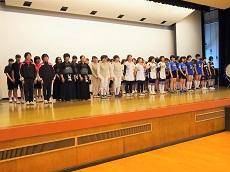 高校総体壮行会6