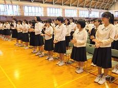 高校総体壮行会7