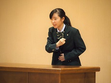 聖霊高校主催中学生英語暗唱大会2