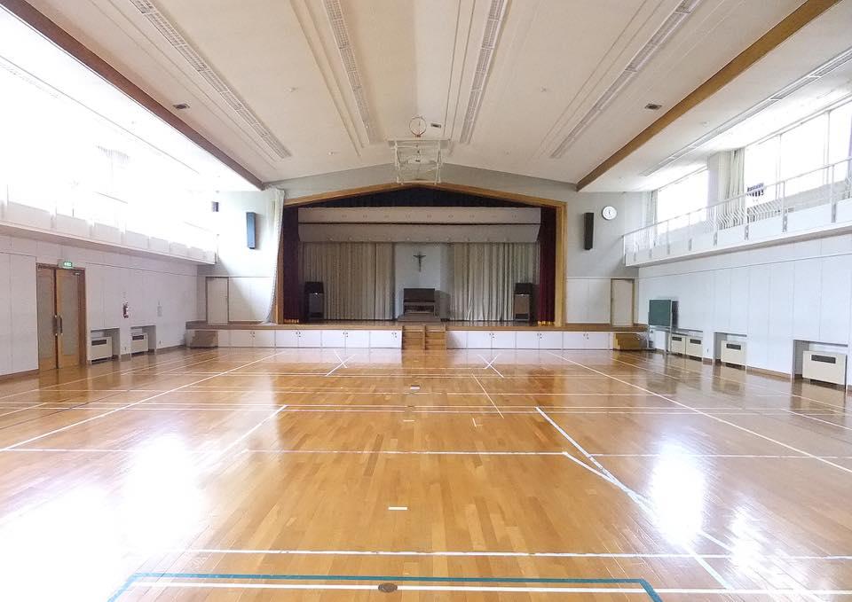 体育館(セシリアホール)の写真