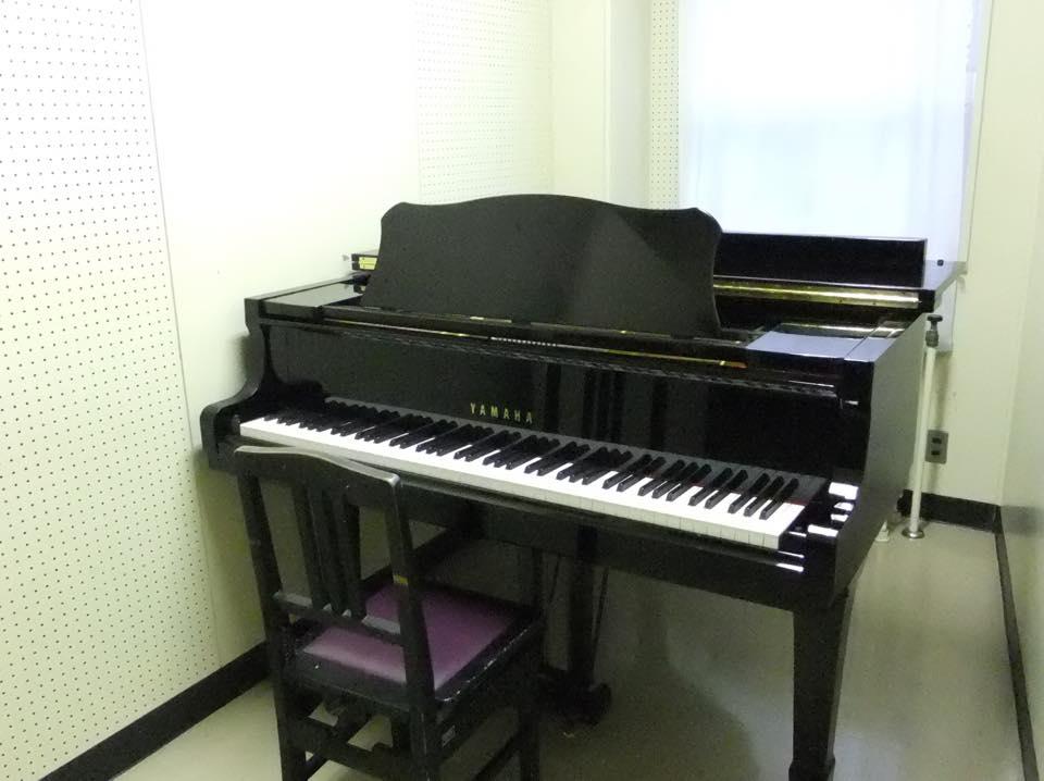 ピアノ個人練習室の写真
